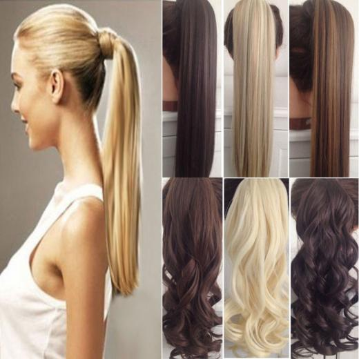 Quick Looks with Pony Tail Hair Extensions