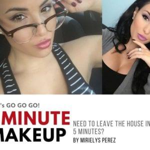 Go Go Go 5 Minute AM Makeup Routine