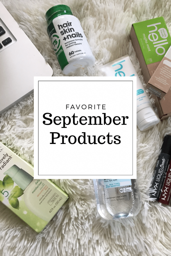 Favorite September Products