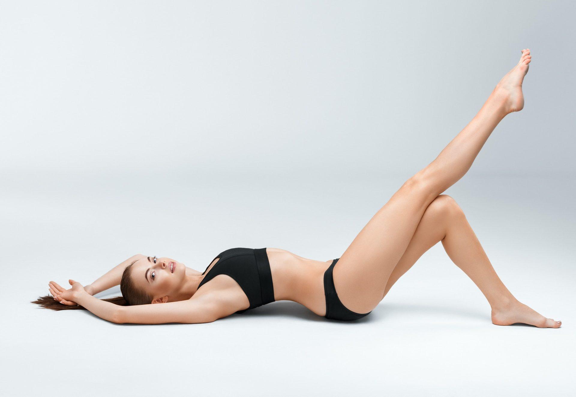 Woman body beauty sport
