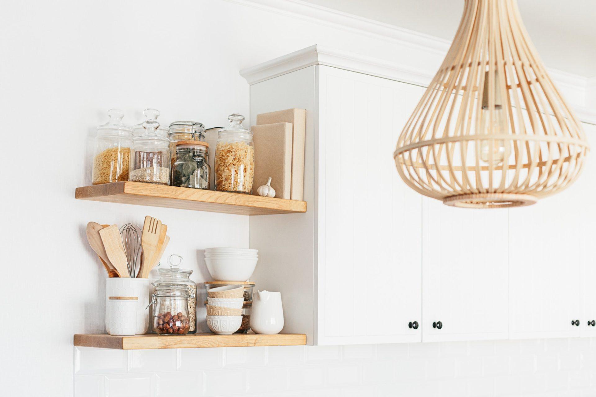 Eco friendly kitchen, zero waste home concept